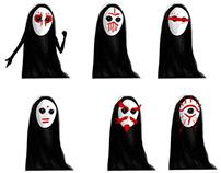 Maskees | Digital Games Concept Art Class work