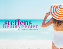 STEFFENS BEAUTY CENTER logo identidade visual