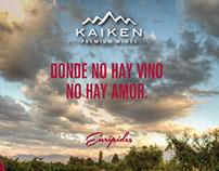 Gráficas frases de vino - KAIKEN WINES