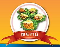 Menú de Comida - Flyer - Tríptico