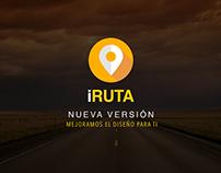 Diseño UI - UX (App iRuta)