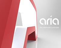 Aria - The minimalist luminaire