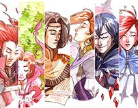 Redeptio Fatalis / Diseño de Personaje (2014)