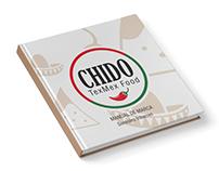 Marca CHIDO TEX-MEX FOOD. Brandbook/Manual de Marca.