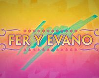 Casamiento de Fer y Evano