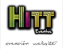 Diseño Resposivo Pagina Web HITT EVENTOS