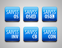 Desktop icons for SAIVSS an ERP solution