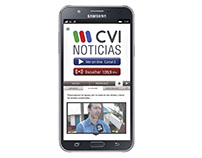 Diseño de App para Android - CVI Noticias