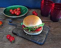 One veggie burger, a thousand meals