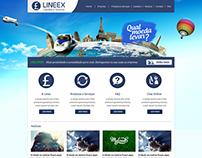 Site Lineex Câmbio