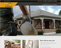 Site da Construtora Scholl