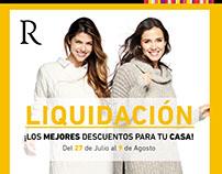 Campaña Liquidación - Ripley