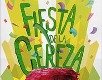 Afiche FIESTA DE LA CEREZA