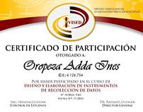 Diplomas y Certificados