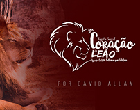Coração de Leão Logo - David Allan