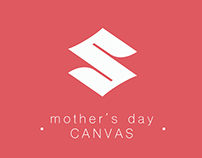 """Suzuki Campaign """" Mother's Day """" for Facebook ( Canvas)"""