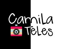 Logotipo - Camila Teles Fotografia