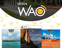 Social Media - Sitios Wao