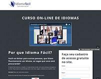 Landing Page - Idioma Fácil