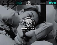 Body Art - Página Web
