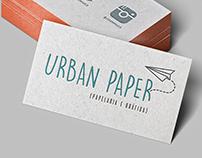 Cartão de Visita - URBAN PAPER