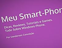 """Vinheta """"Meu Smart-Phone"""" para youtube."""