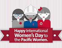 Día de la mujer Pacific