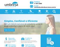 LAYOUT E-COMMERCE UMBRELLA CORRETORA