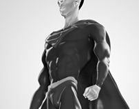 Modelado 3d. Superman Lives (nicolas cage)