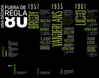 Tipografía del '80