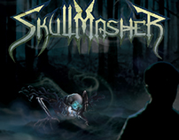 SKULLMASHER Logo & CD Cover Design