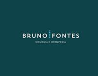 Identidade e site para Bruno Fontes