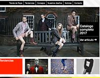 Sitio sobre moda