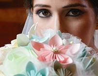 Bouquet de Novia Origami