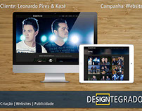 Leonardo Pires & Kazé - Website Design