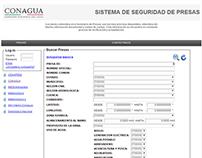 Documentación del Sistema de Seguridad de Presas.