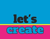 """Logo agencia """"Let's Create"""""""