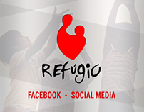 Social Media • ONG Refúgio