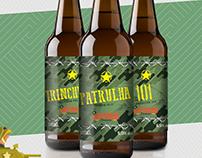 Rótulo Brassaria Bagstone - Linha de Cervejas