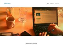 My personal One-Page Portfolio