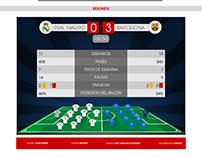 PROTOTIPO - Sección Estadísticas Deportivas