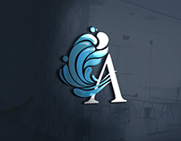 Logotipo y variables para industria del agua
