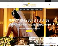 Website | Mega Sabores - Buffet e Eventos