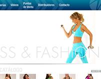 Diseño pagina web Mofit