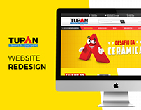 TUPAN - Website Redesign