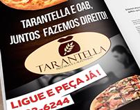 Pizzaria Tarantella - Anúncio Institucional.