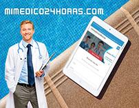 Diseño web Full responsive, sitio web medico
