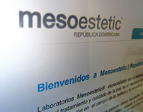 Mesoestetic Website