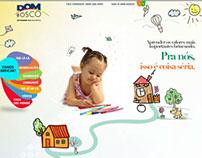 HotSite | Dom Bosco - Coleção Vamos Brincar