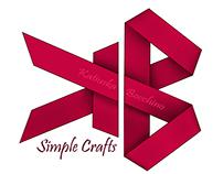Simple crafts logo